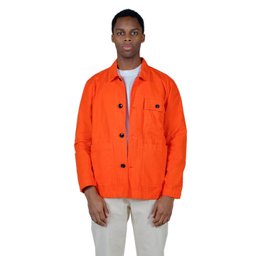 Albam GD Ripstop Rail Jacket in Red