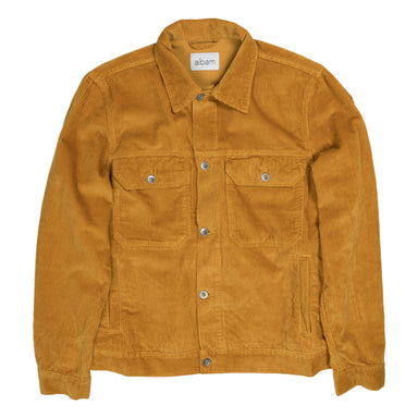 Albam Cord Utility Jacket in Gold