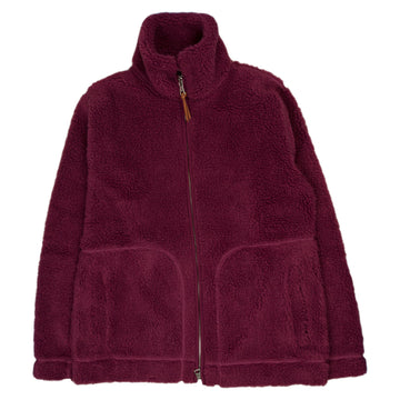 Albam Fleece Zip Through in Raspberry