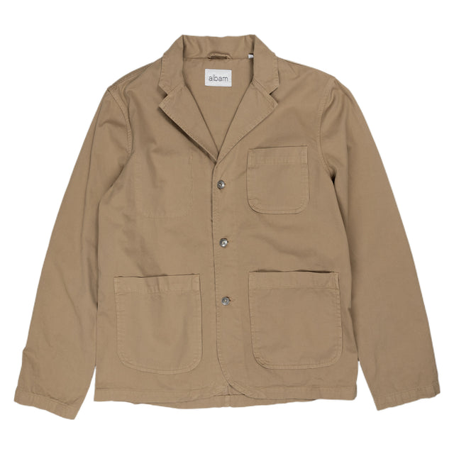 Albam Hedge Casual Blazer Jacket Outerwear Tobacco