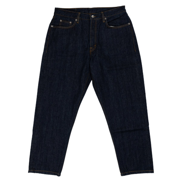 Albam Japanese Denim Taper Fit Jean Pant Indigo Front