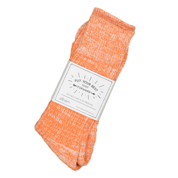 Marl Socks - Orange