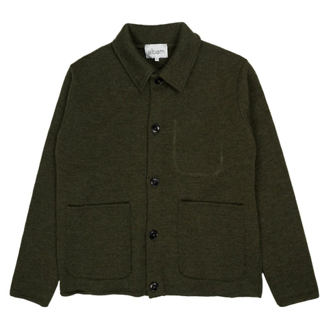 Albam Milano Work Jacket in Olive