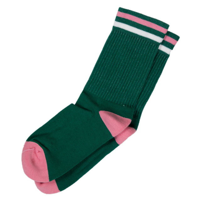 Kennedy Lux Athletic Sock - Green