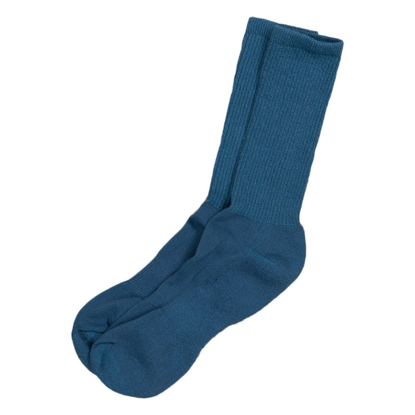 american trench mil spec sport socks in denim