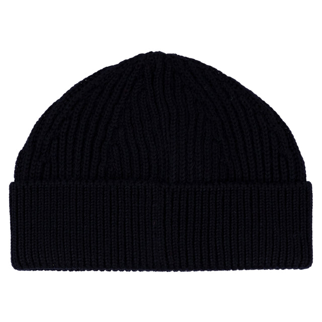 Short Beanie Navy Blue