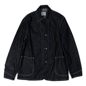 August Fifteenth Industrial Coverall Jacket Denim