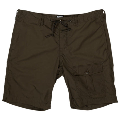 August Fifteenth Camp Short Olive Front