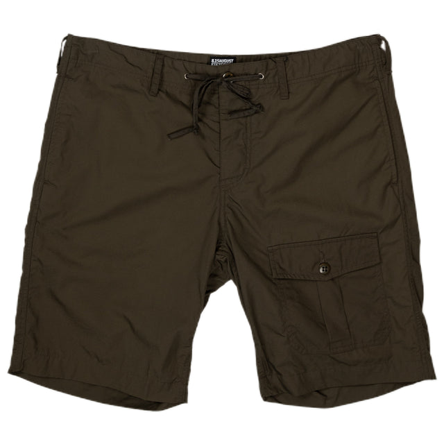 August Fifteenth Camp Short Olive