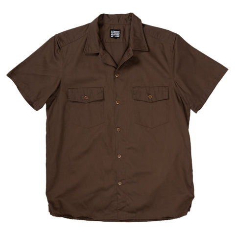 August Fifteenth Detroit Shirt Brown Front