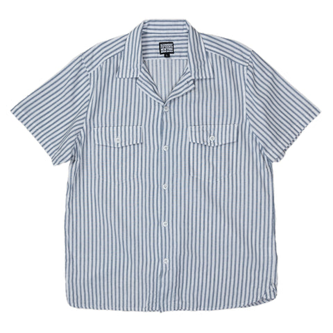 August Fifteenth Detroit Shirt Ticking Stripe