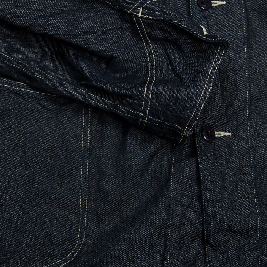 Industrial Coverall Jacket - Denim