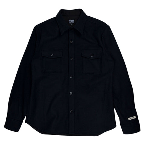 August Fifteenth Mariners CPO Shirt in Navy