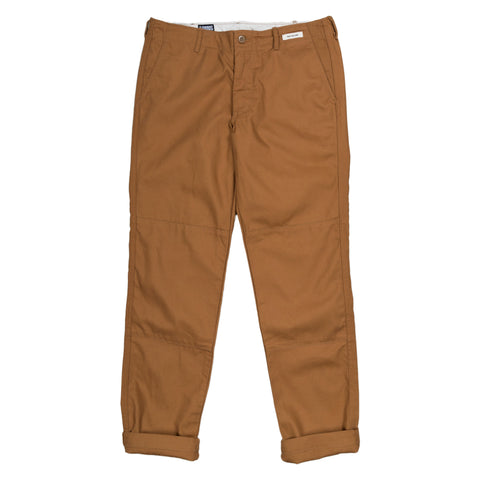 August Fifteenth Matagi Canvas Work Pant in Brown