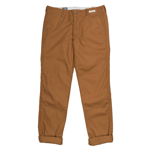 Matagi Canvas Work Pant - Brown