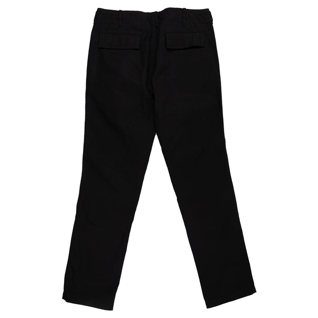 August Fifteenth Matagi Canvas Pant Black Back
