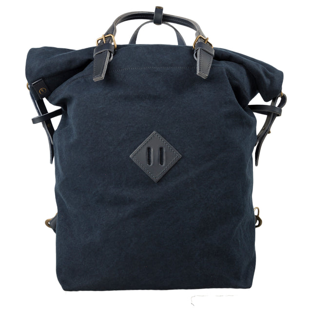 bleu de chauffe woody backpack in indigo