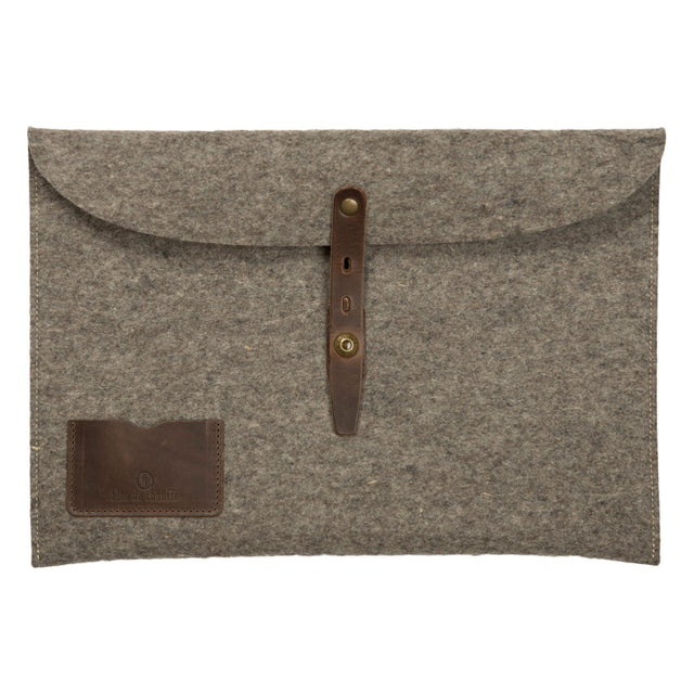 Misha 13 Inch Laptop Sleeve - Natural Felt