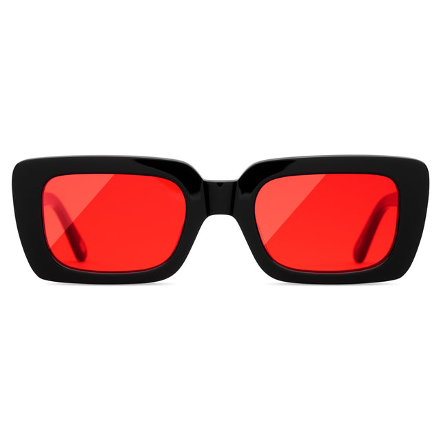Chimi Laser Solid Black Red
