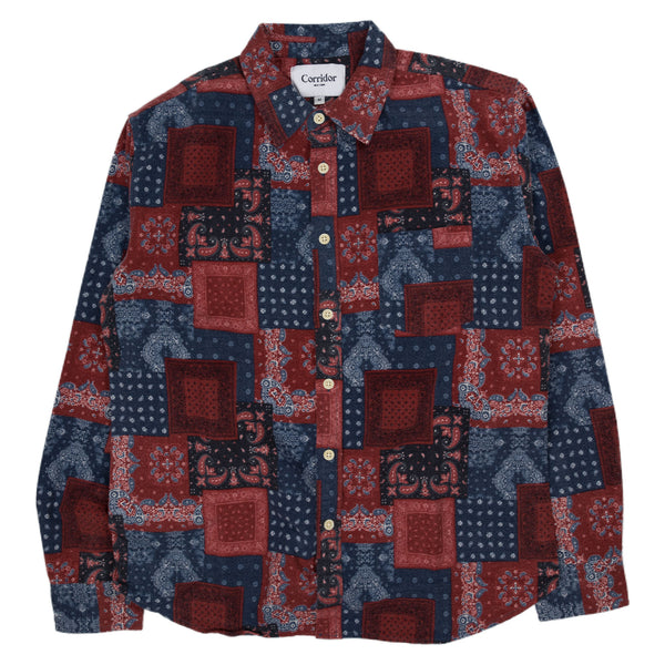 Bandana Flannel Shirt