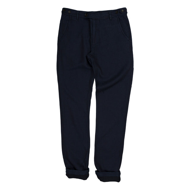 Corridor Grainsack Indigo Trouser in Navy