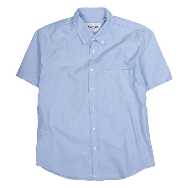 Classic Oxford Short Sleeve -  Blue