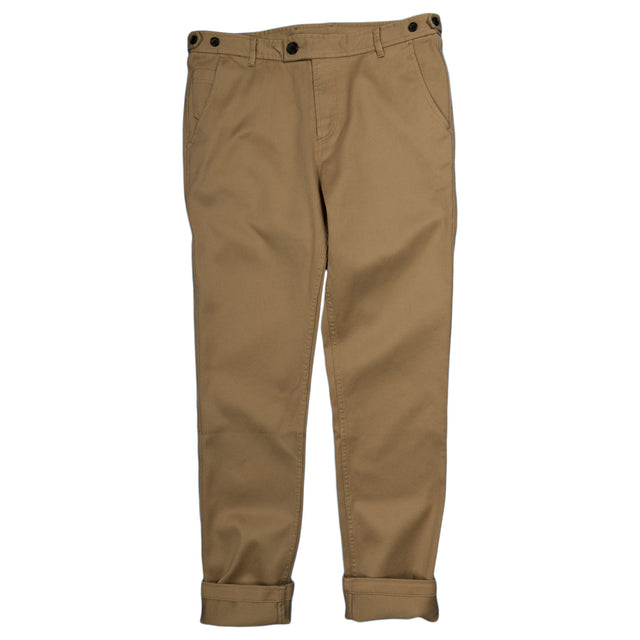 Rugged Twill Chinos - Khaki