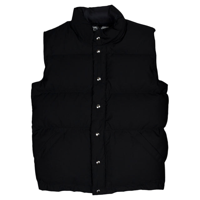 Crescent Down Works Italian Vest in Black