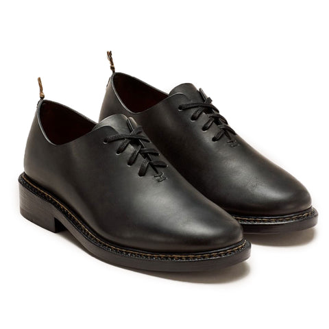 FEIT Braided Oxford Shoe Footwear Leather Black Hero