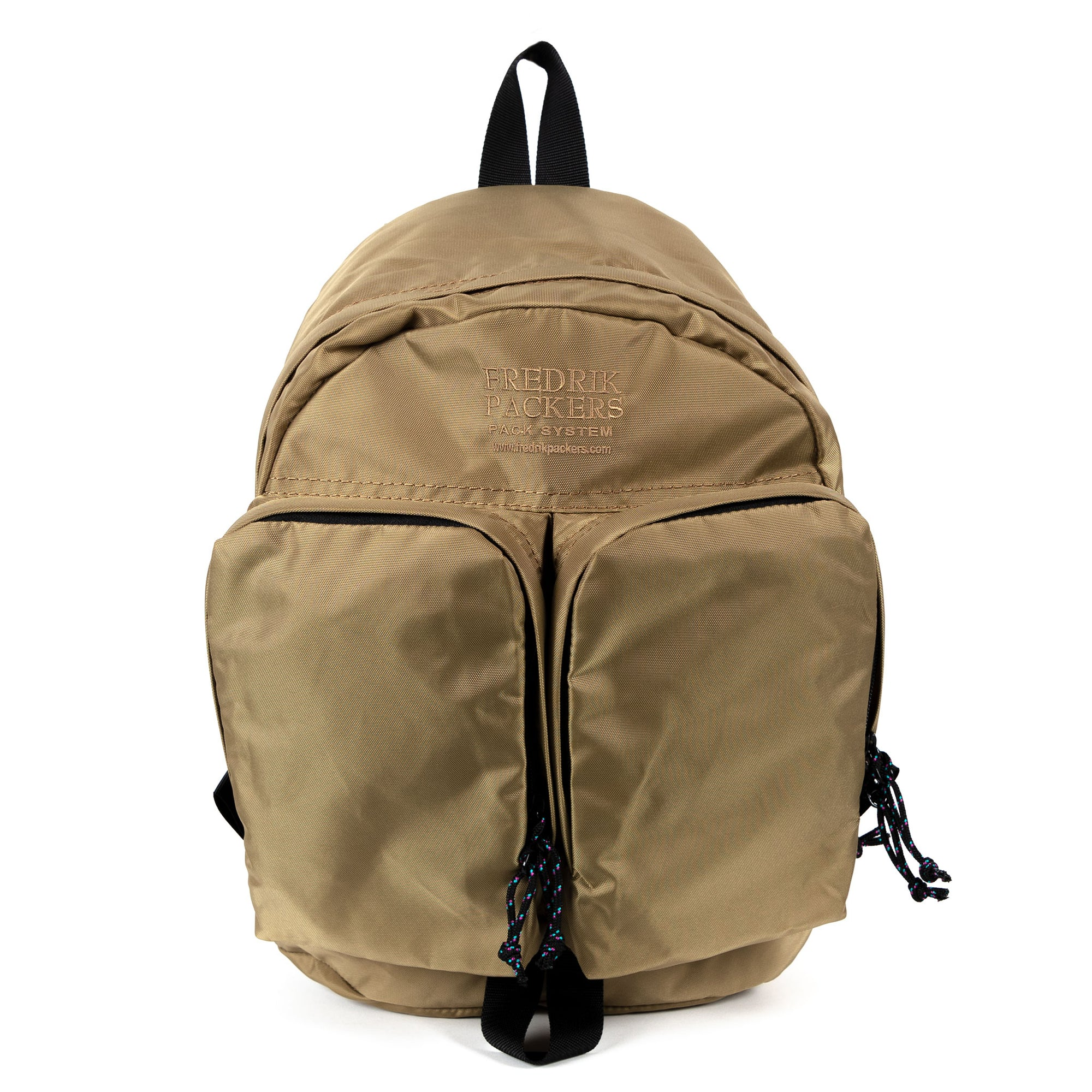 fredrik packers twins backpack in coyote