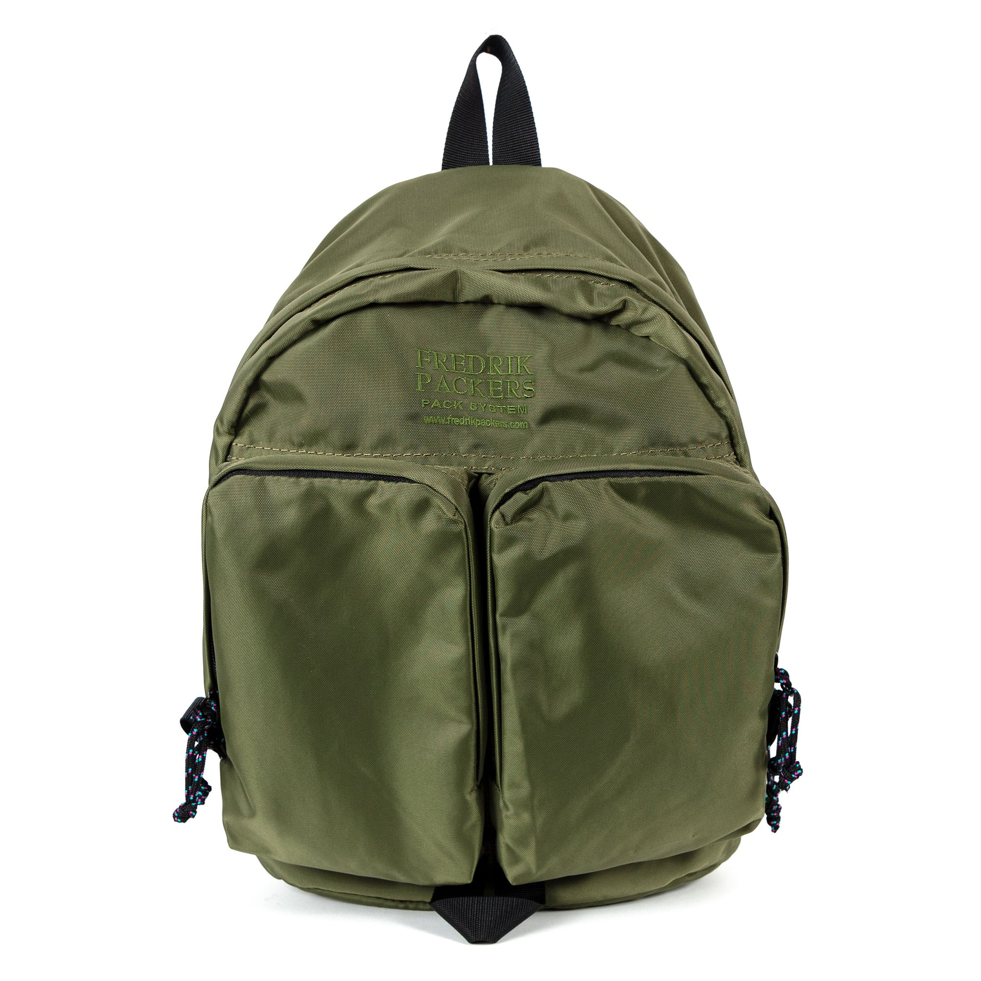 Fredrik Packers Twins Backpack in Olive