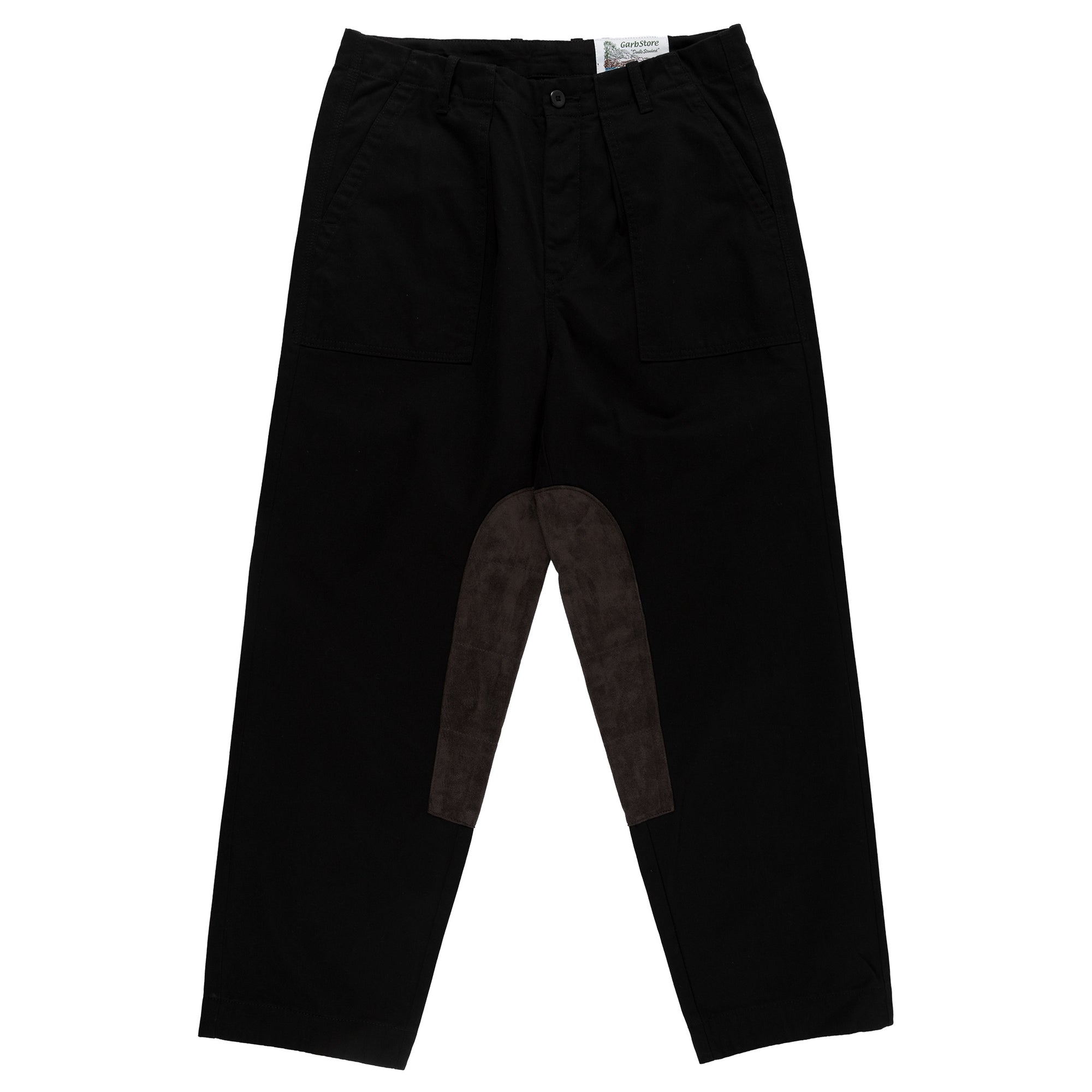 garbstore ruffle trouser black