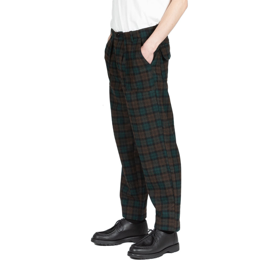 Garbstore Ruffel Trousers  in Check