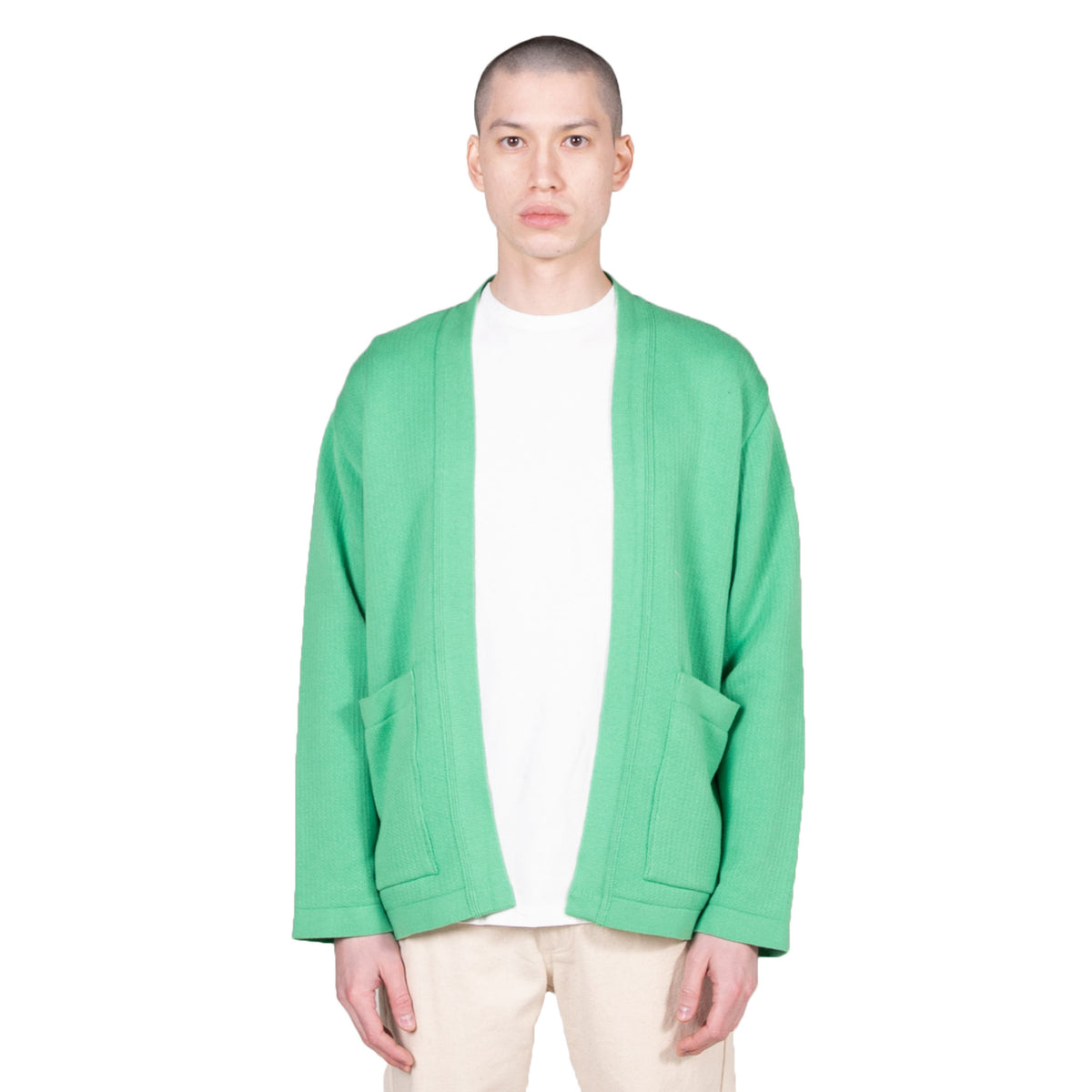 The English Difference Kimono - Pea Green