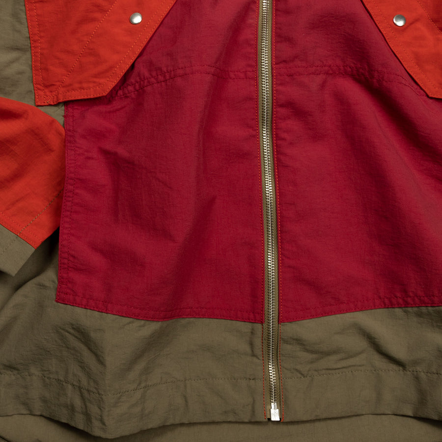 Garbstore Co op Jacket in Red