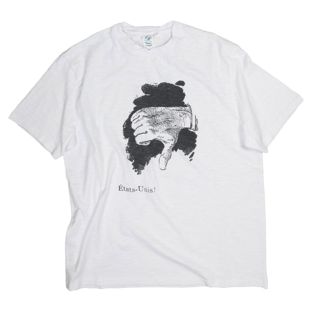Etats Unis Tee Shirt White