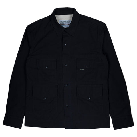 Garbstore Flight Shirt in Navy