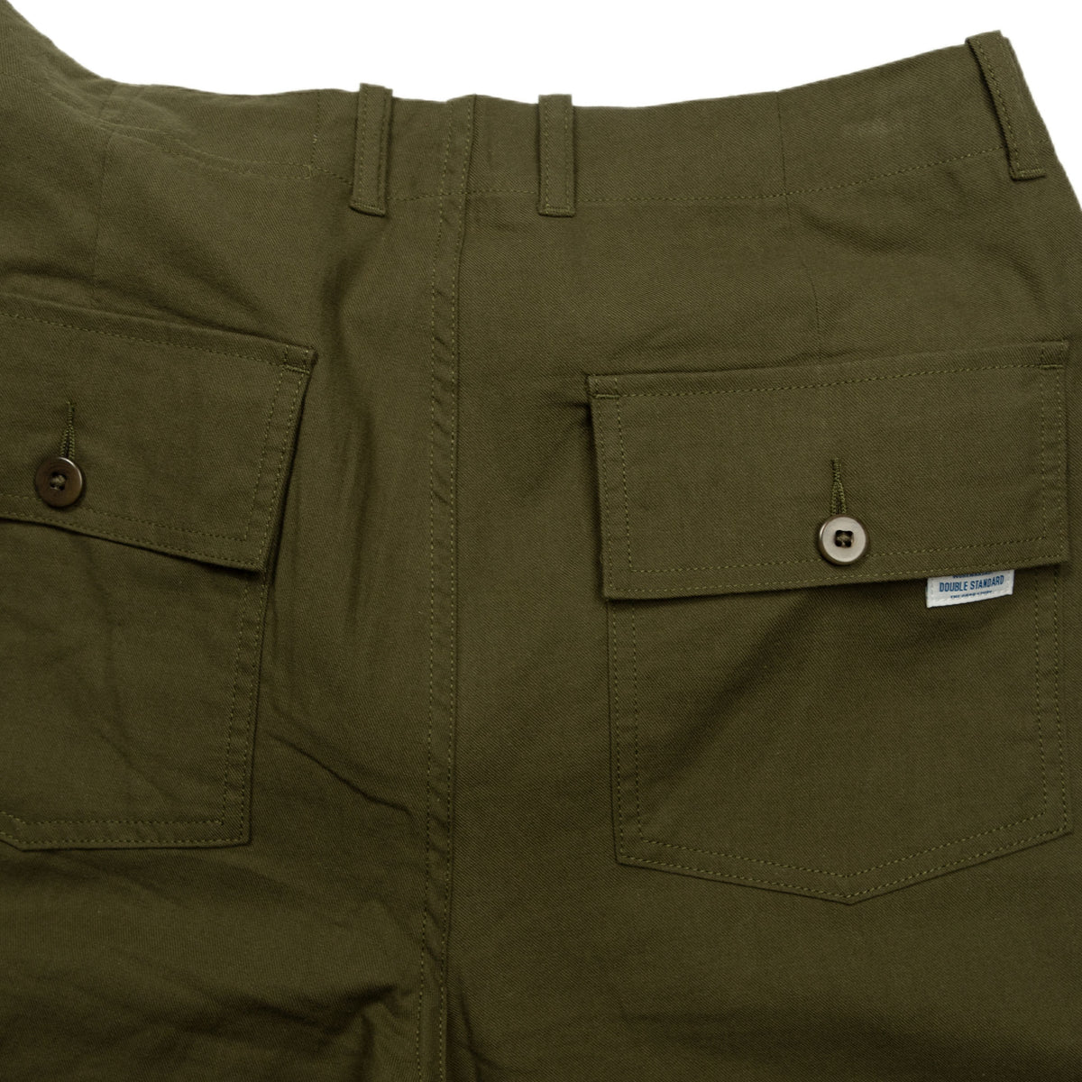 Ruffel Trousers - Green