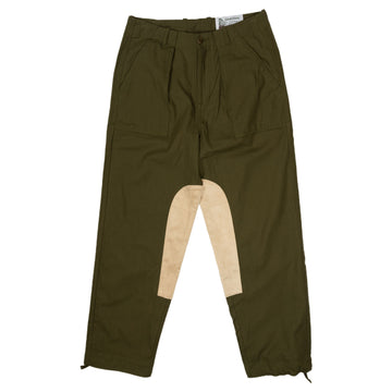 Garbstore Ruffel Trouser in Green