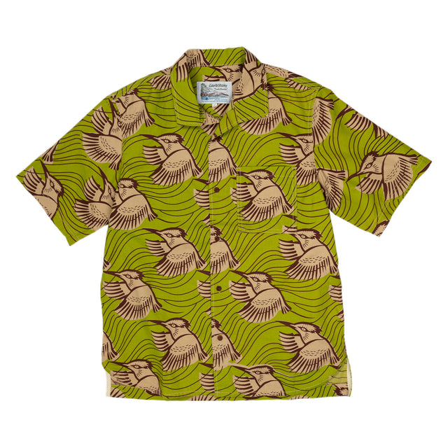Garbstore Slacker Shirt in Green
