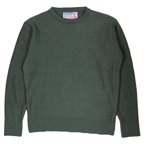 The English Difference Crewneck Sweater - Olive
