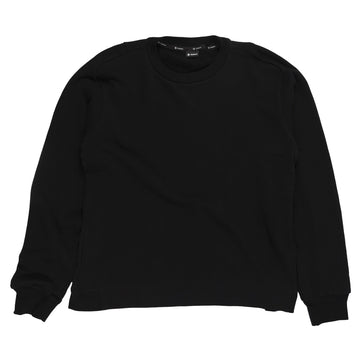 Goldwin Crewneck Sweatshirt in Black sweater front