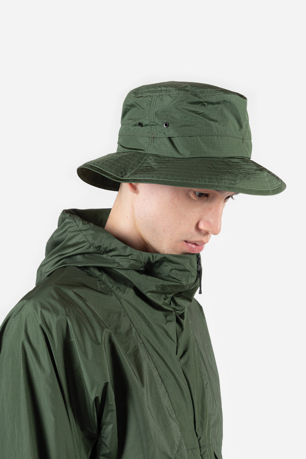goldwin-element-light-bucket-hat-khaki-green