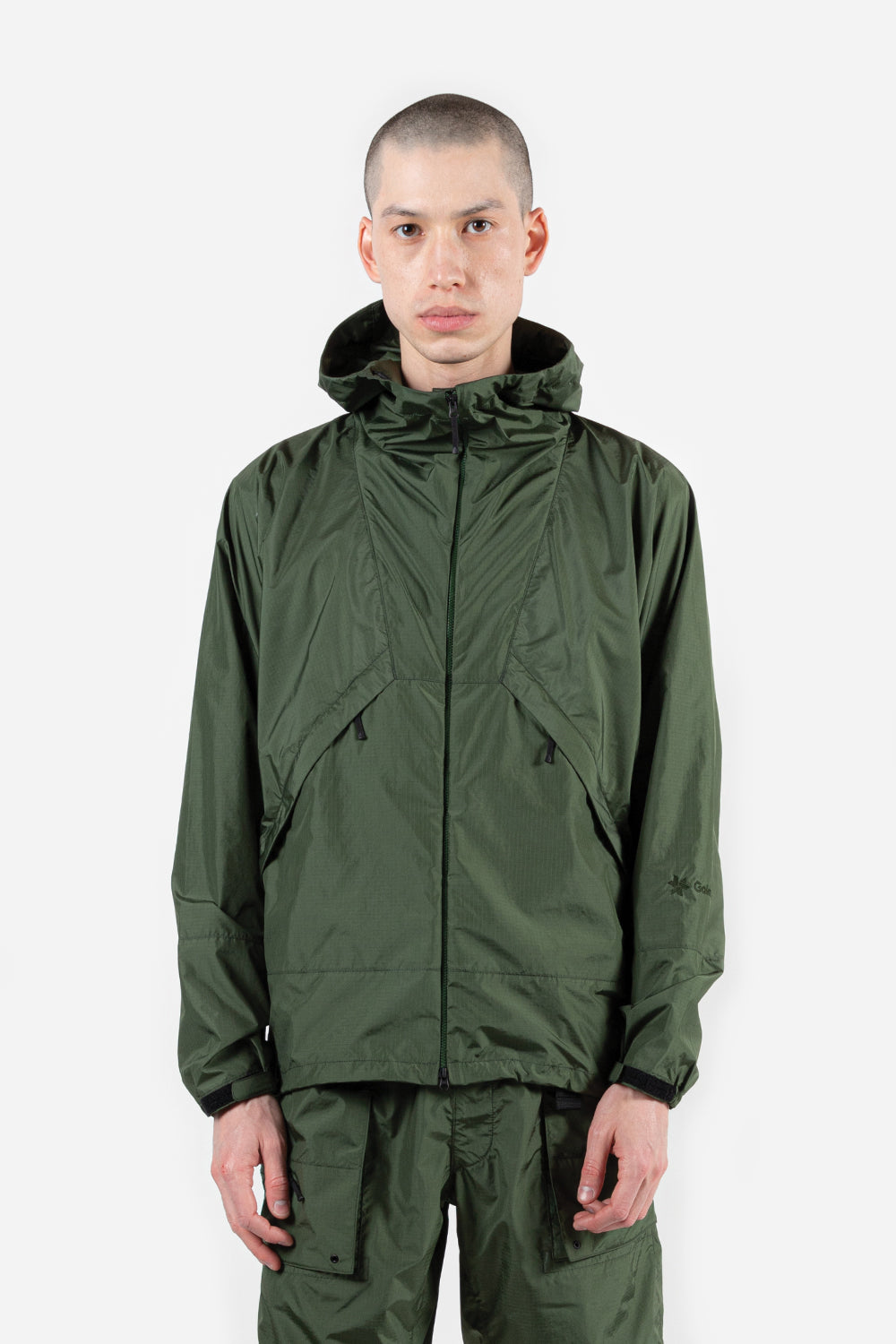 goldwin-element-light-jacket-khaki-green