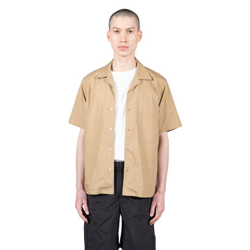 goldwin open collar ss shirt