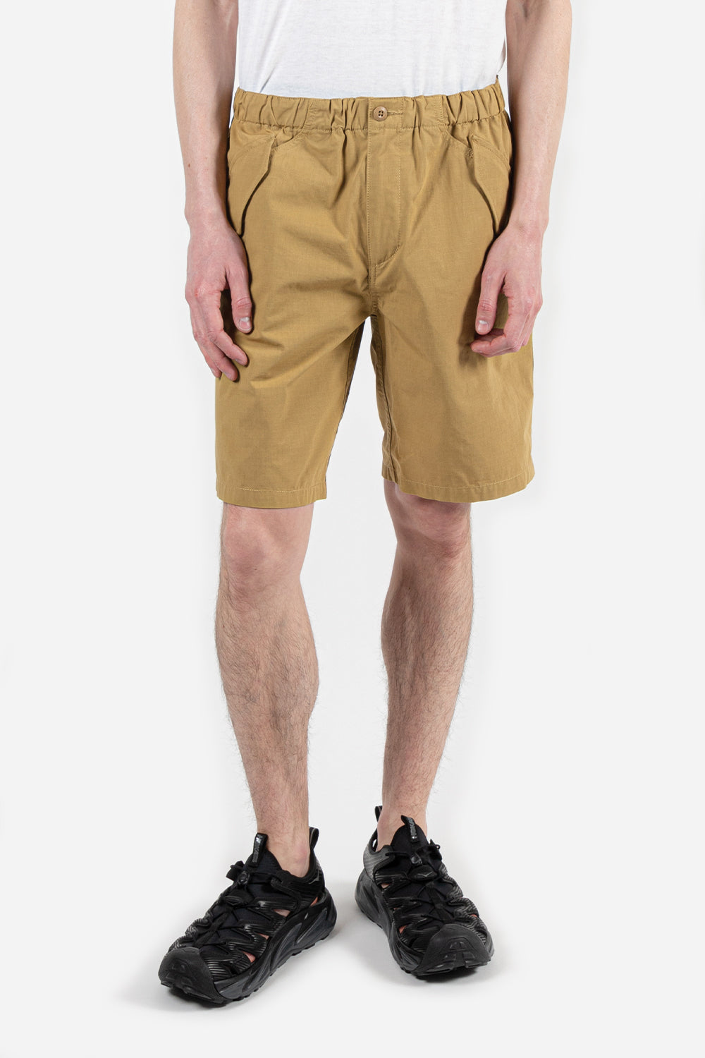 goldwin-relax-easy-shorts-beige