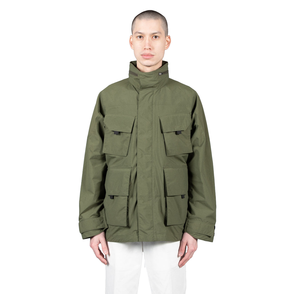 goldwin traveler blouson in Olive