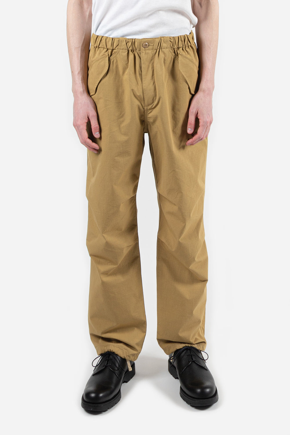 goldwin-wide-easy-wind-pants-beige