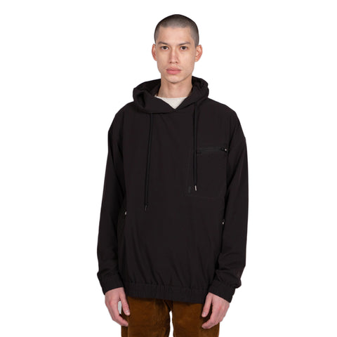 Gramicci Sonora Pertex Hoodie in Black all weather weatherproof outer wear