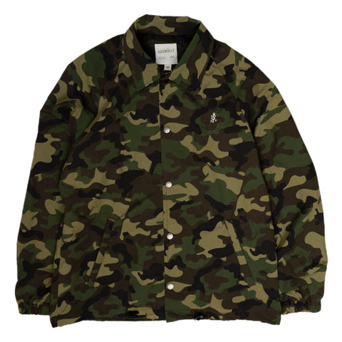 Gramicci Shell Coach Jacket in Camo